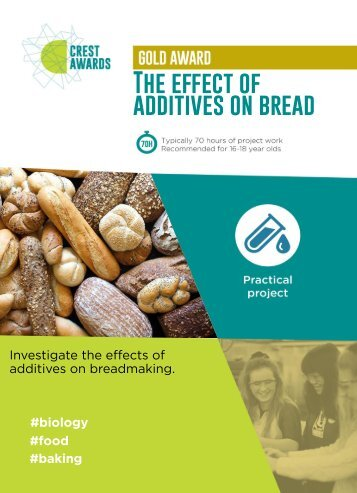 The effect of additives on bread