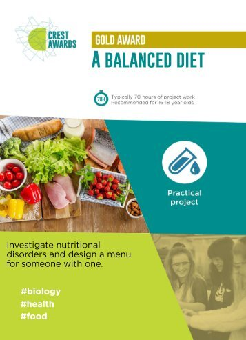 A balanced diet
