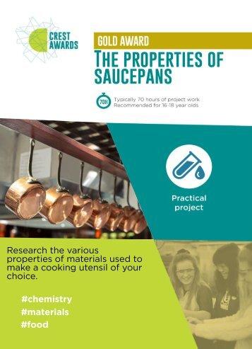 The properties of saucepans