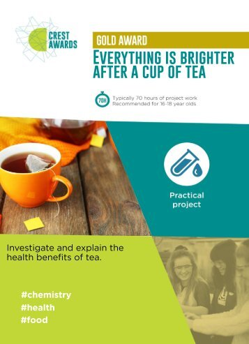 Everything is brighter after a cup of tea