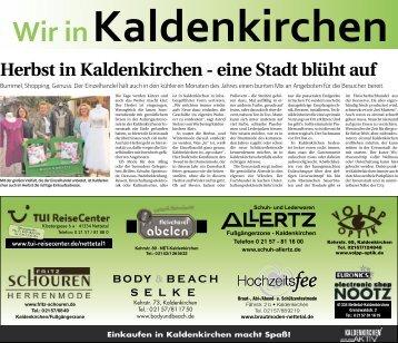 Wir in Kaldenkirchen  -11.10.2018-