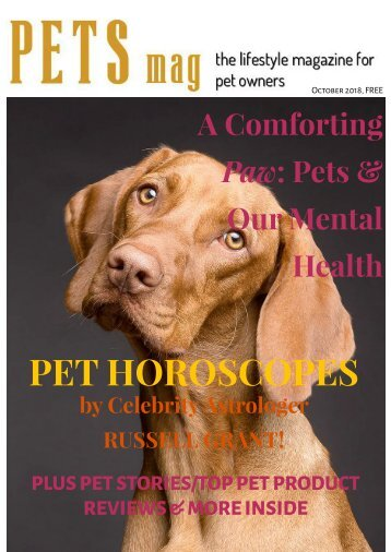 Pets Magazine October 2018
