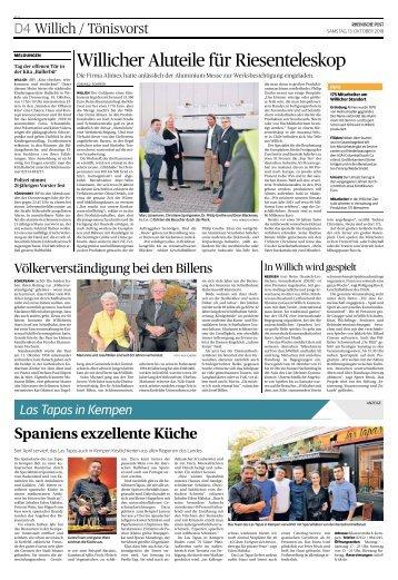 Las Tapas in Kempen  -13.10.2018-