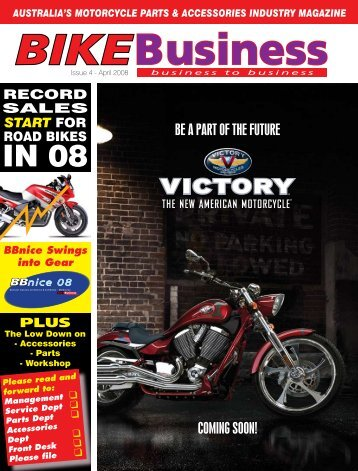 Issue 004 - April 2008 - Bike Business Magazine Home Page