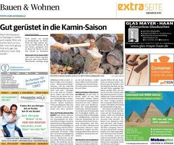 Bauen & Wohnen  -17.10.2018-