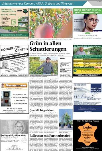 Unternehmen aus Kempen, Willich, Grefrath und Tönisvorst  -17.10.2018-