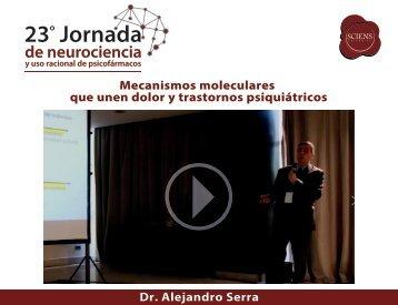 Mecanismos moleculares que unen dolor y trastornos psiquiátricos - A Serra