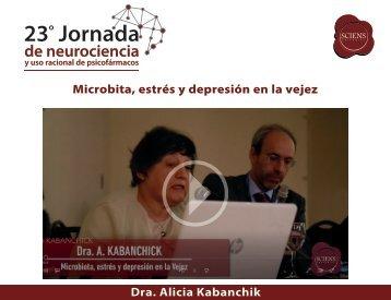Microbita, estrés y depresión en la vejez - A Kabanchik