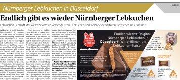 Nürnberger Lebkuchen in Düsseldorf  -19.10.2018-