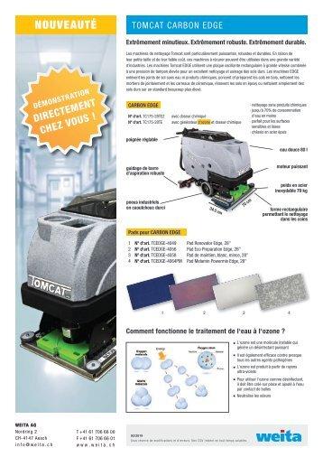 machines de nettoyage Tomcat