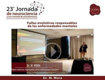 Fallas evolutivas responsables de las enfermedades mentales - M Mora