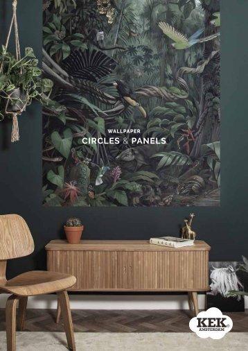 KEK Amsterdam new collection wallpaper panels & circles