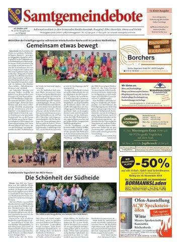Samtgemeindebote 26.10.18