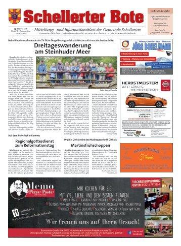 Schellerter Bote 25.10.18