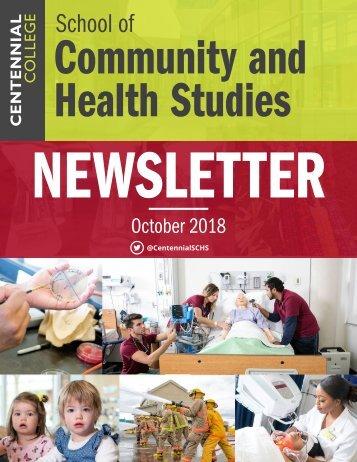 SCHS Newsletter October 2018