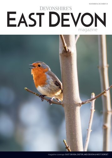 Devonshire's East Devon magazine November December 2018