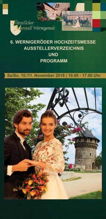 Wernigeröder Hochzeitsmesse 2018