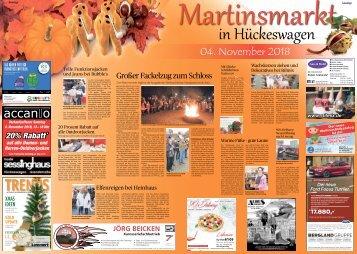 Martinsmarkt in Hückeswagen  31.10.2018-