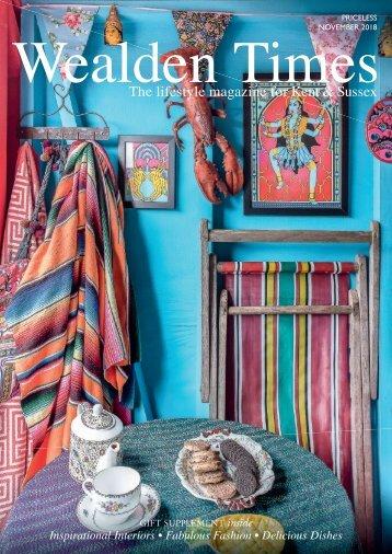 Wealden Times   WT201   November 2018   Gift supplement inside