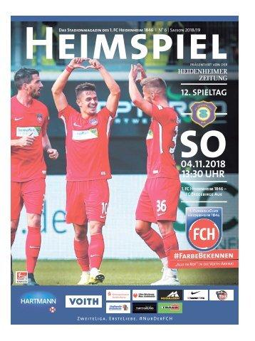 Heimspiel Nr. 6 Saison 2018/19