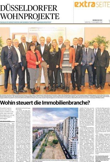 Düsseldorfer Wohnprojekte  -03.11.2018-