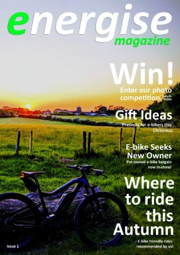 Energise Magazine - Issue 1 - November 2018