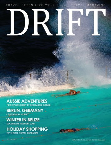 DRIFT Travel Fall/Holiday 2018