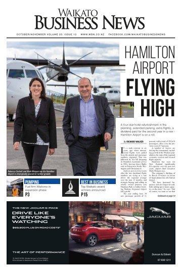 Waikato Business News October/November 2018