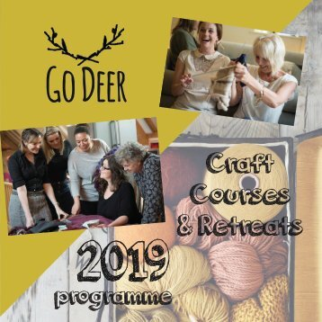 2019 GO DEER brochure