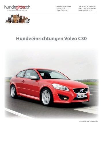 Volvo_C30_Hundeeinrichtungen