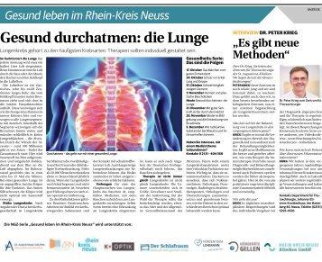 Gesund leben im Rhein-Kreis Neuss  -14.11.2018-