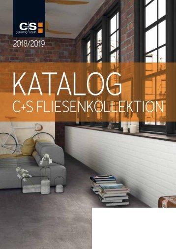 C+S Fliesen-Katalog 2018