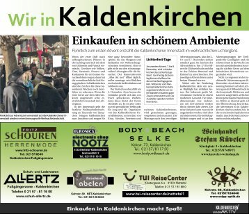 Wir in Kaldenkirchen  -15.11.2018-