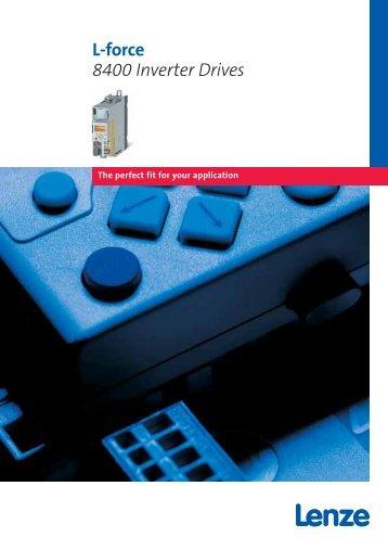 L-force 8400 Inverter Drives - Lenze