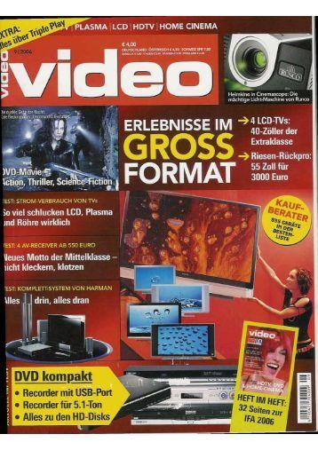 "9*"" PLASMA l LCD 1 HDTV | HOME CINEMA - Image Vertriebs GmbH"