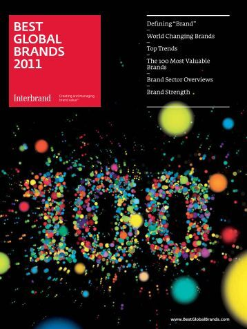 BEST GLOBAL BRANDS 2011