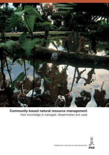 Community-based natural resource management - International ...