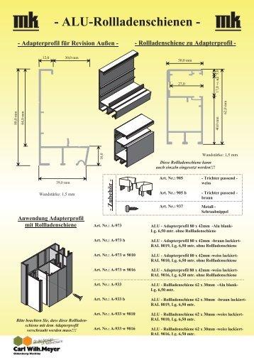 rollladenschiene magazine. Black Bedroom Furniture Sets. Home Design Ideas