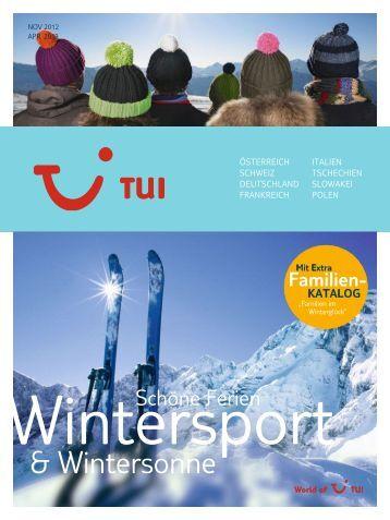 TUI WintersportWintersonnne Wi1213