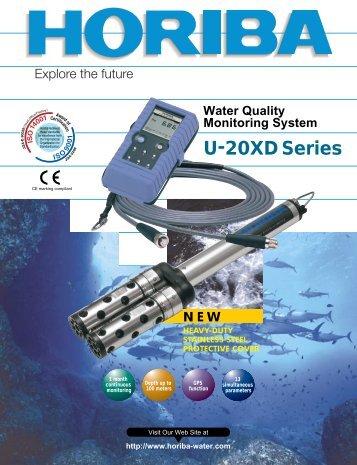 U-20XD Series Water Quality Monitoring System - Horiba