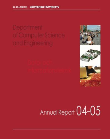 Department of Computer Science and Engineering Annual Report ...