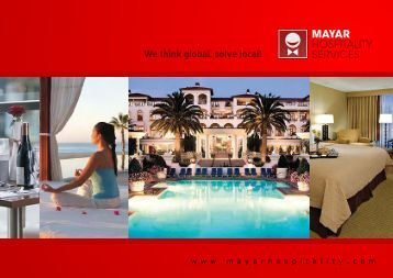We Think Global, Solve Local! MAYAR - Mayar Hospitality Services