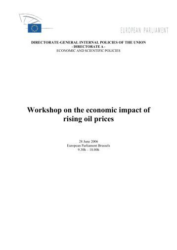 the economic impact of rising oil Originally published by fox business on may 22, 2018 the schork report publisher stephen schork on the outlook for oil prices.