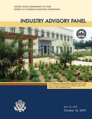 INDUSTRY ADVISORY PANEL - US Department of State