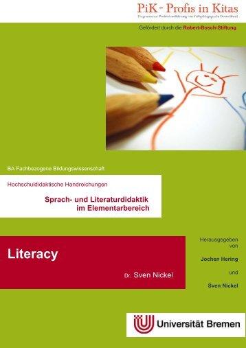Sprach- und Literaturdidaktik im Elementarbereich Literacy