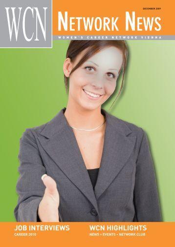 NETWORK NEWS - Women's Career Network