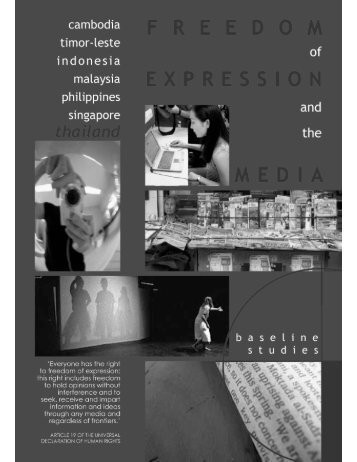 Freedom of Expression and the Media in Thailand - Article 19