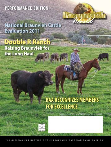 Double R Ranch - Braunvieh Association of America
