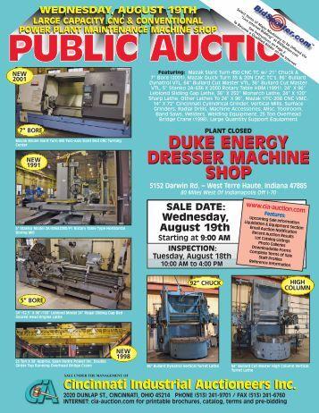 machine shop cincinnati