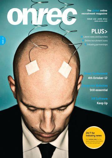 Issue 132 May/June 2012 - Online Recruitment Magazine